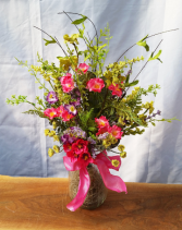 Silk Country Meadow Silk Arrangement