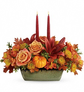 Country Oven Centerpiece in Wichita Falls, TX | House of Flowers & Gifts