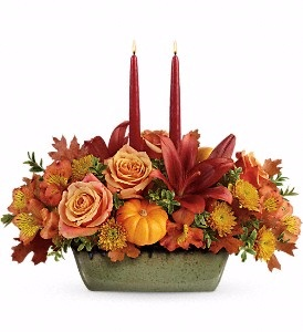 Country Over Centerpiece All around centerpiece  in Ballston Spa, NY | Briarwood Flower & Gift Shoppe