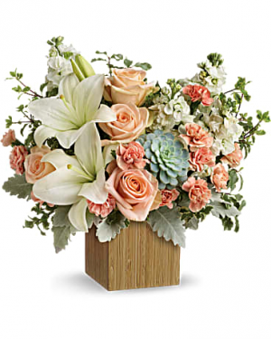 Country Peach  in Whittier, CA | Rosemantico Flowers