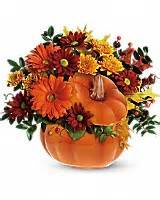 country Pumkin arrangement centerpiece in Claremont, NH | FLORAL DESIGNS BY LINDA PERRON