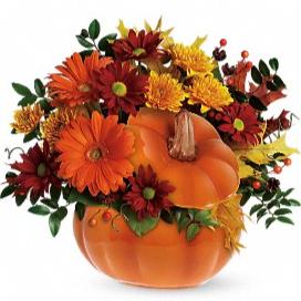Country Pumpkin arrangement