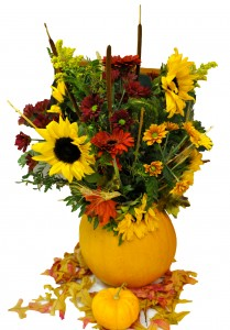 Country Pumpkin Centrepiece