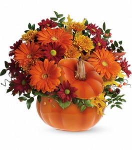 Country Pumpkin Arrangement in Sarasota, FL | SUNCOAST FLORIST