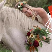 Country Ride  Bridal Bouquet & Flower Crown
