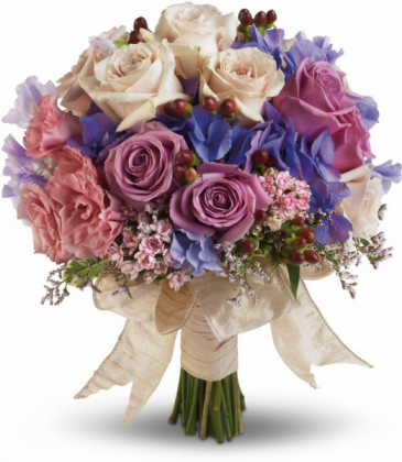 Country Rose Bridal Bouquet
