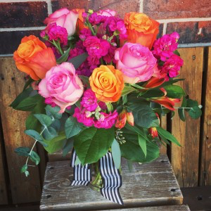 Country Rose Vase   in Ozone Park, NY | Heavenly Florist