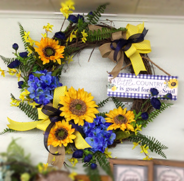 Country Soul wreath