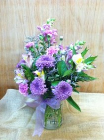 Country Splendor Spring mix bouquet