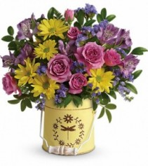Country Spring Pail