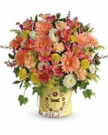 Country Spring Teleflora - Two Gifts in ONE!