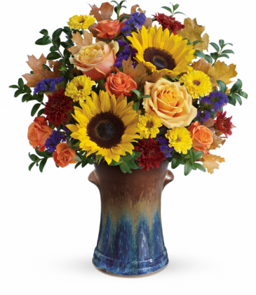 Country Sunflowers  All-Around Floral Arrangement