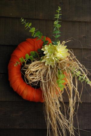 Country Sunrise Silk Wreath