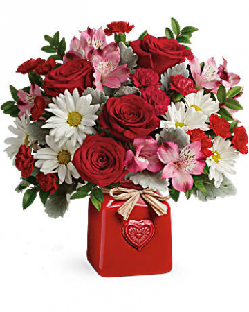 Country Sweetheart Bouquet Fresh Cut Valentine's Day