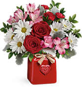 COUNTRY SWEETHEART BOUQUET VALENTINE'S DAY