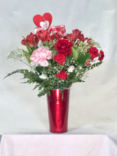 Country Sweetheart vase