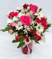 Country Sweetheart Vase Arrangement
