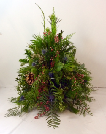 Countryside Charm Fresh Tree Arrangement