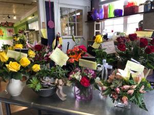 COVID 19  in Piqua, OH   Allisten Manor's Flower Box