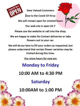 Covid 19  Store Hours