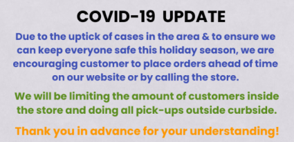 COVID-19 Thanksgiving Update