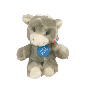 """Cow Baby Rattle - 6.5"""" Add-On"""