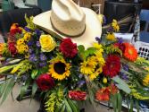 Cowboy rides away Funeral