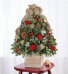 Cozy Cabin Holiday Flower Tree® Arrangement
