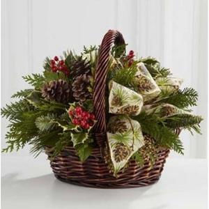Cozy Christmas Centerpiece in Vernon, NJ | HIGHLAND FLOWERS