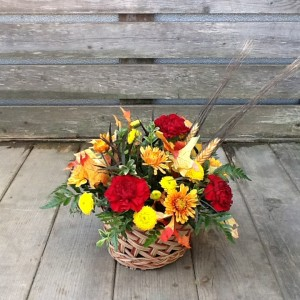 Cozy Fall Basket Basket