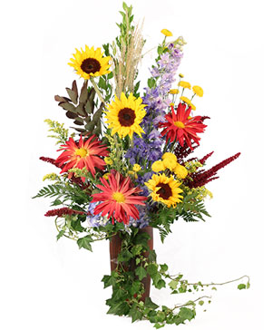 Cozy Nights Flower Arrangement in Hermann, MO | Terraflora Botanicals & Gifts