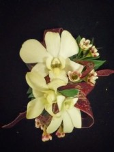CR-5 Dendrobium Orchid Corsage Corsage-Wrist