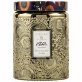 CRANE FLOWER Large Jar Candle By Voluspa