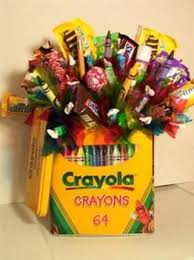 Crayon & Candy Bouquet Candy Bouquet