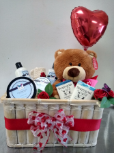 Crazy about  you gift Basket