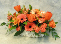 Crazy for Coral  Vibrant Fresh Flowers