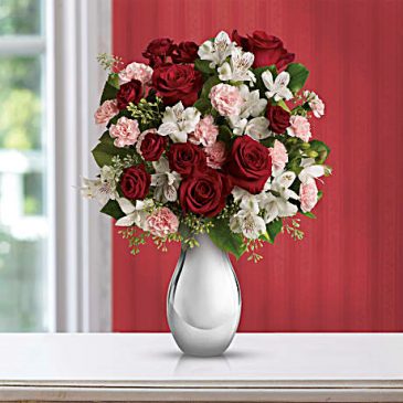 Crazy for You Bouquet with Red Roses Love & Romance