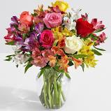 Made You Smile PERUVIAN LILY AND ROSES