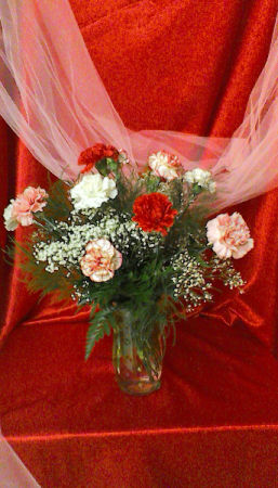 CA12VCrazy in Love Valentine Arrangement