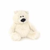 Cream Big Belly Bear Plushland