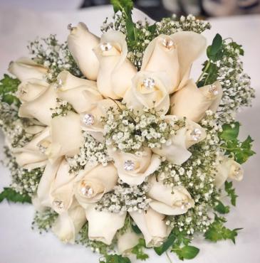 CREAM DREAM BRIDAL BOUQUET Wedding-Bridal