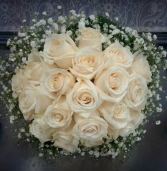 Cream Elegance Bridal Bouquet