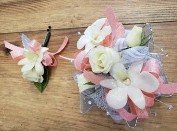 Cream Floral Combo