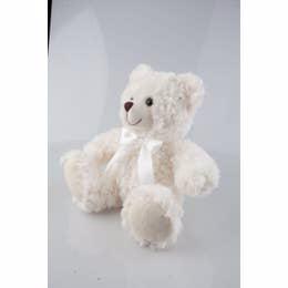 Cream Sitting Bear