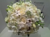 Cream & White Bridal Bouquet