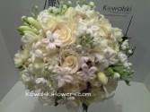 Cream & White Bridal Bouquet