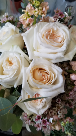 Creamy Blush  Bride's Bouquet