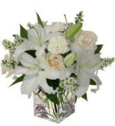 Creamy White  Vase Arrangement