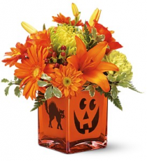 Creepy Cube Fall Bouquet