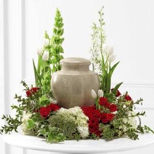 Cremation Urn Arrangement  in Selma, NC   SELMA FLOWER SHOP